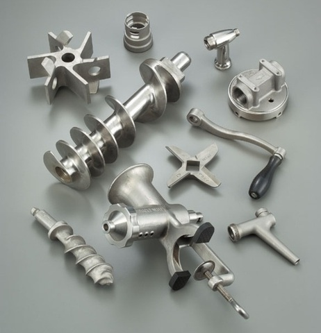 stainless steel casting for food processing industry