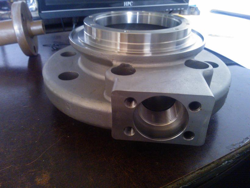 machined stainless steel castings