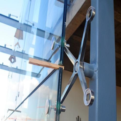 stainless steel glass spider fitting