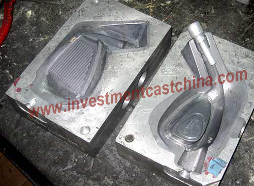 Stainless steel investment casting for golf club head 01