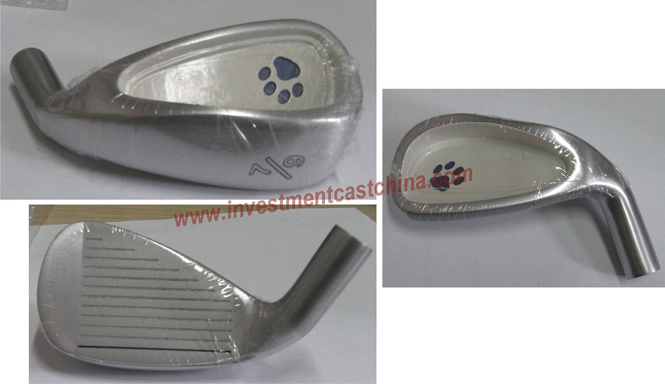 stainless steel investment casting for golf club head
