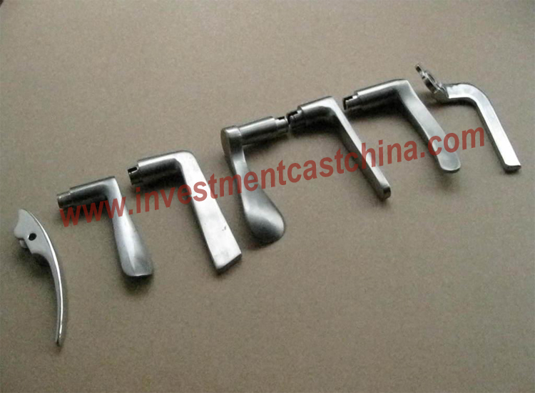 Stainless steel casting for door hardwares