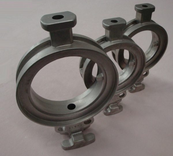 stainless steel investment casting for butterfly valve body