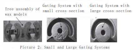 The Effect of Gating System on Shrinkage Defects of Stainless Steel Castings