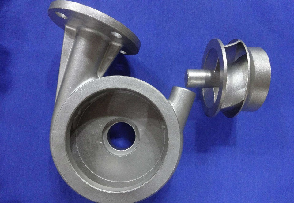 stainless steel casting for pump