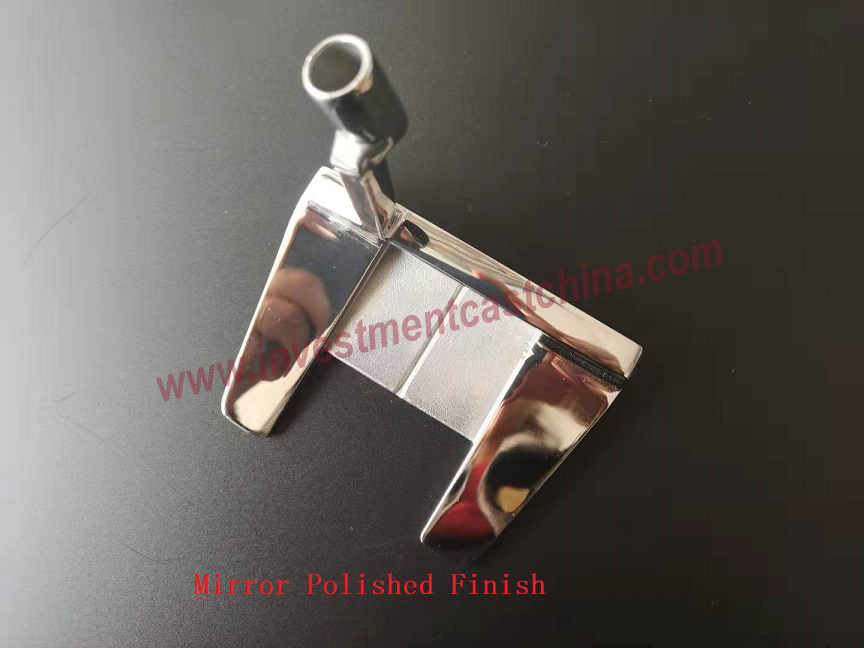 Mirror Polished Golf Putter Head