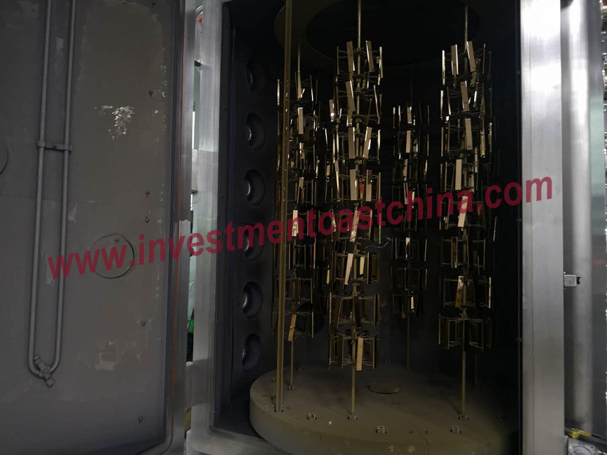 Vacuum Titanium Plating-The Way to Color Stainless Steel Castings