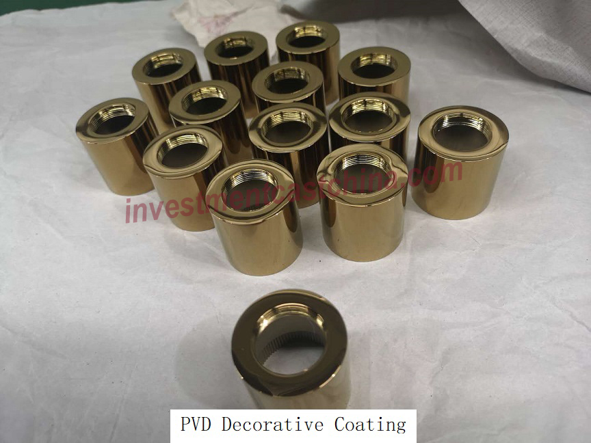 PVD Decorative Coating for Stainless Steel Casting