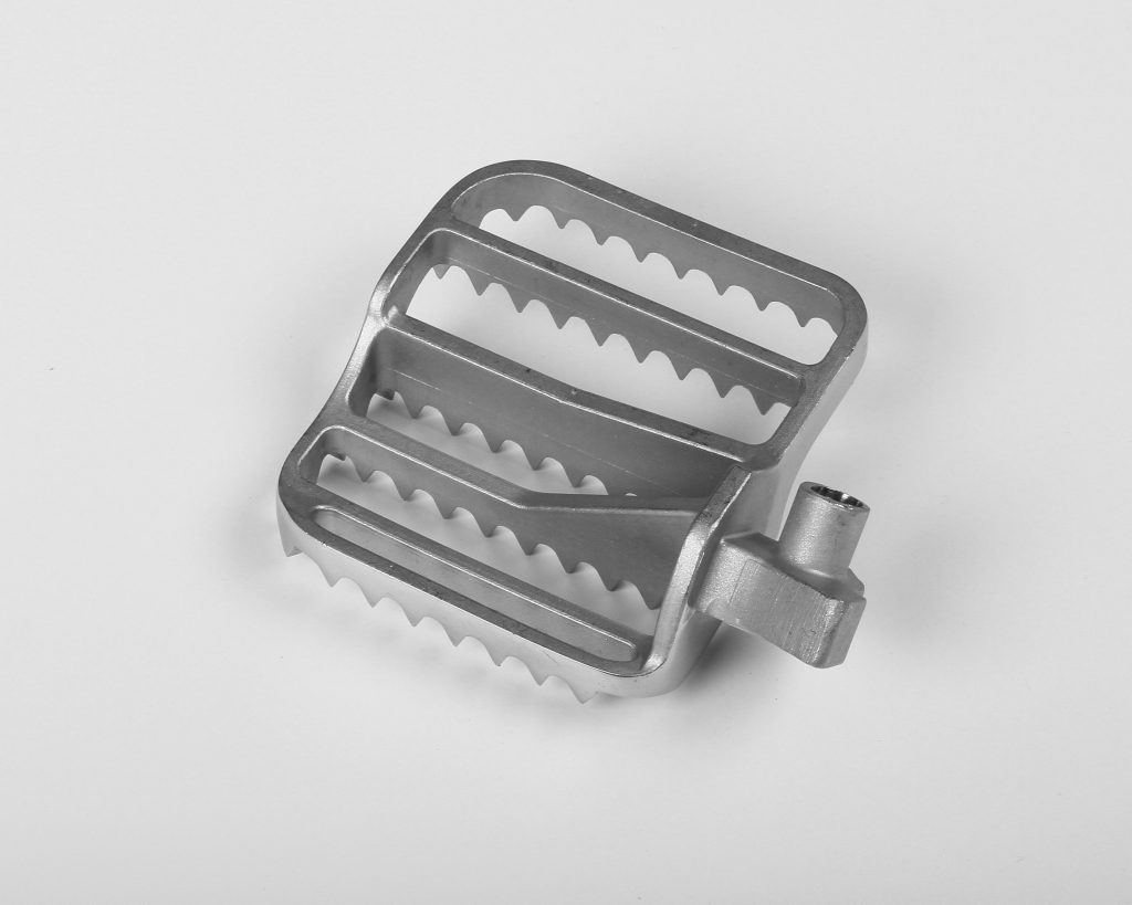 Cast Stainless Steel Motorcycle Foot Peg