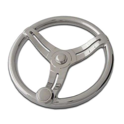Stainless Steel Investment Casting of Boat Steering Wheel